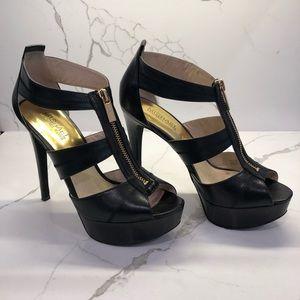 Michael Kors Black platform heels